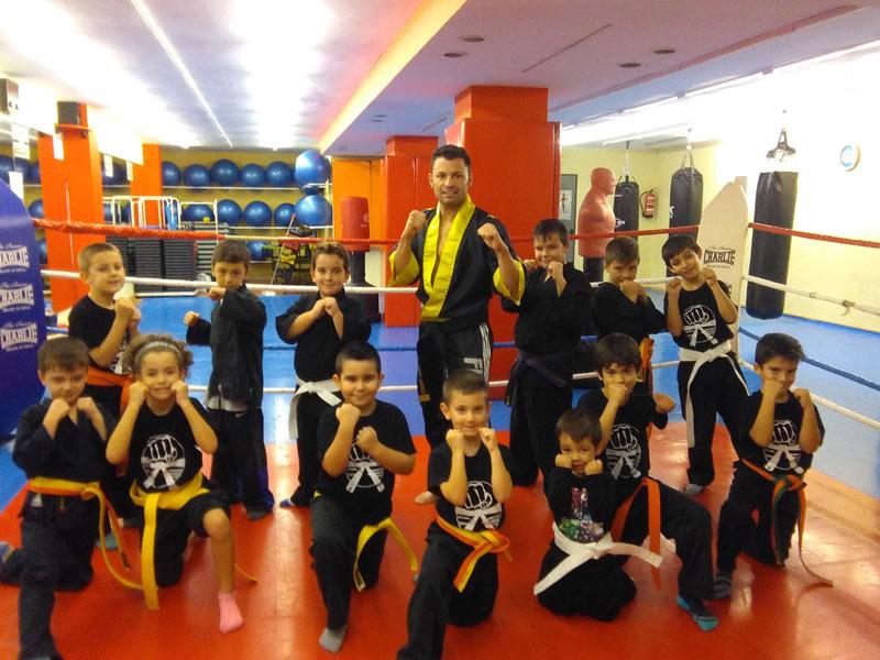 Artes marciales infantiles Centro deportivo Acrópolis Badajoz