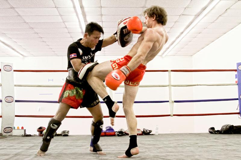 Muay thai gimnasio Centro deportivo Acrópolis