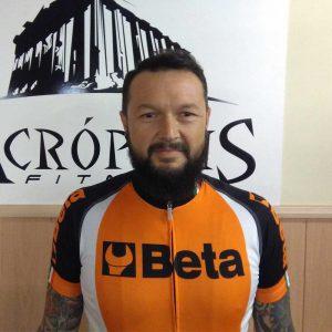 Nuestro equipo: Agustín Díaz Centro deportivo Acrópolis Badajoz