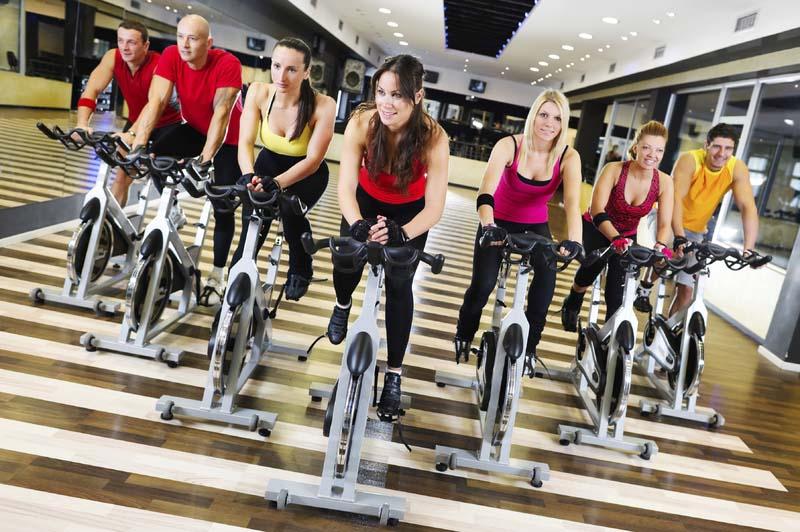 Ciclo indoor en gimnasio Centro deportivo Acrópolis Badajoz