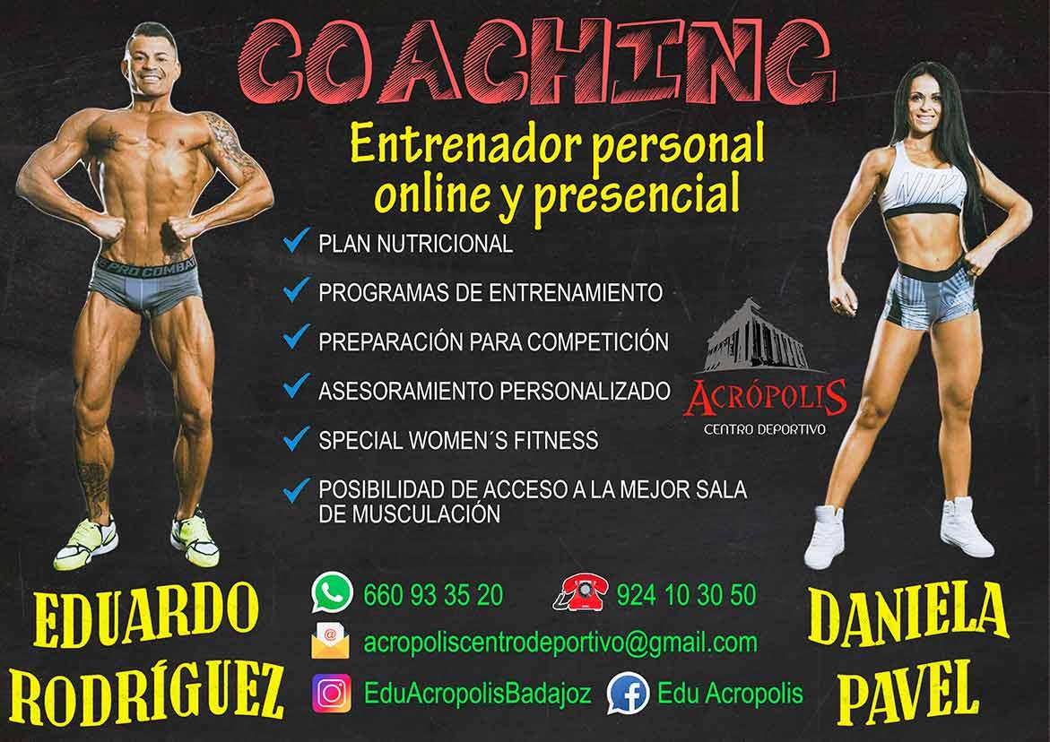 Preparación física Badajoz gimnasio Acrópolis